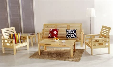 factory direct living room furniture solid wood pine wood sofa set living room furniture