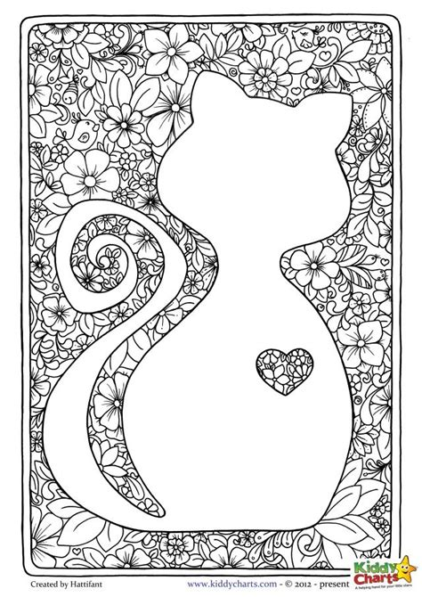 cats coloring book grayscale stress relief calming and relaxing coloring book portable books 25 unique colouring pages ideas on