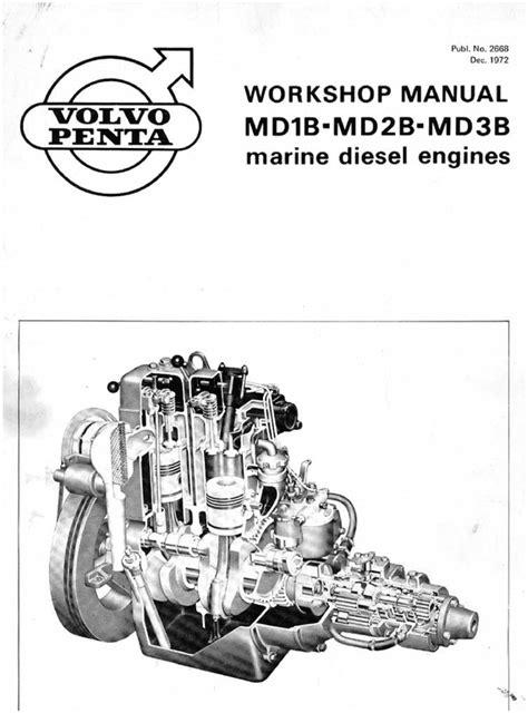Volvo Penta Md Series Service Repair Workshop Manuals