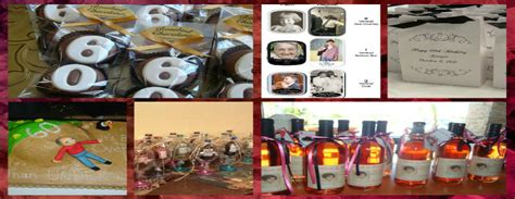 60th Birthday Giveaways Ideas - party favor ideas for 60th birthday meraevents