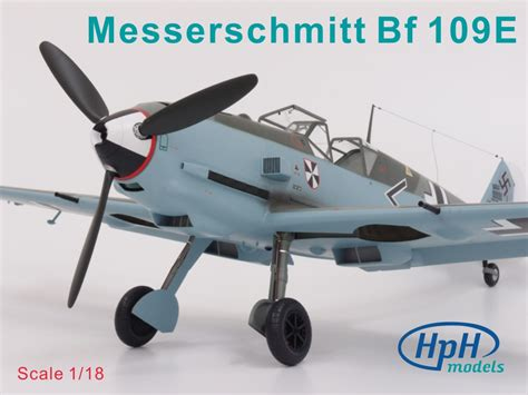 libro messerschmitt bf 109 the hph model 1 18 messerschmitt bf 109 e multimedia model kit 18041l ebay