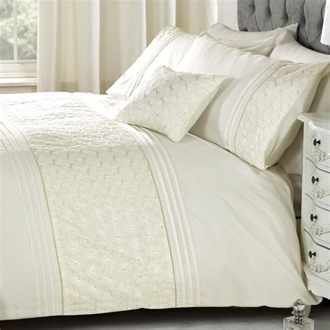 cream coverlet everdean cream embroidered bedding set duvet sets