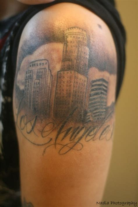 la skyline tattoo los angeles tattoos pictures to pin on tattooskid
