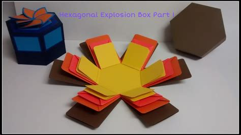 explosion box tutorial start to finish part 2 diy art and craft tutorial howto make basic
