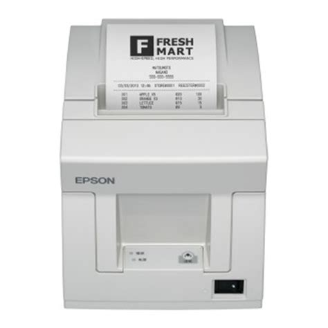 Printer Kasir Thermal Epson Tm T81 ciptama computer epson tm t81 t82