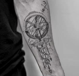 caduceus armillary sphere best tattoo design ideas symbol tattoos best ideas designs