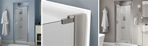 Shower Door Installation No Top Track Style Pivoting Shower Door Installation