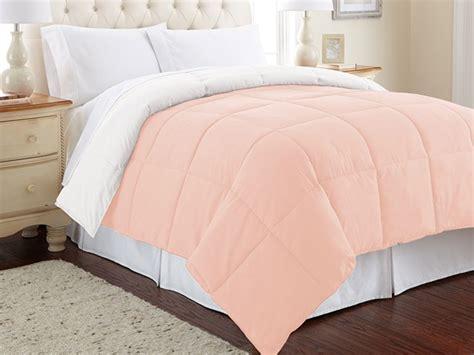 the best down alternative comforter down alternative reversible comforter