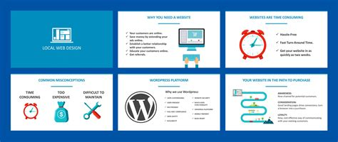 website layout design sle sell web design with this white label pitch deck seo