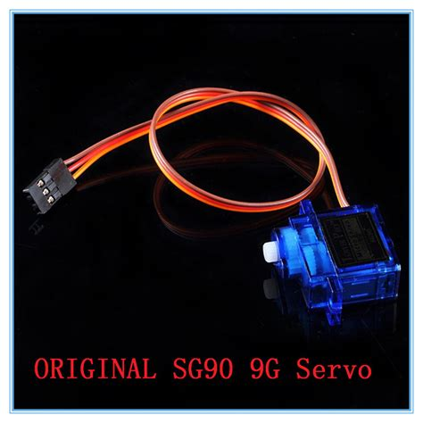 3second 6 Free 1 5pcs lot sg90 9g micro servo motor for robot 6ch rc
