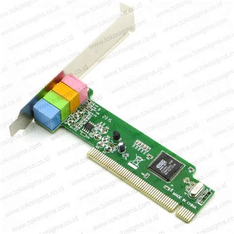 Harga Soundcard For Recording by Pci Sound Card 1 Ess 1946 Toko Sigma