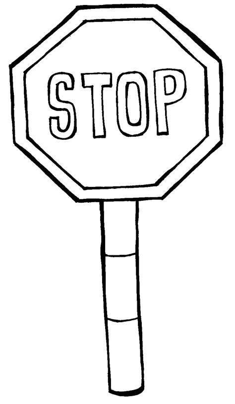 Printable Stop Sign Coloring Page Coloring Home Stop Sign Coloring Pages
