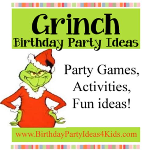 grinch pinterest kids party ideas grinch ideas