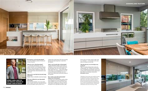 queensland home design and living magazine spotlight on the sunshine state darren james takes 5