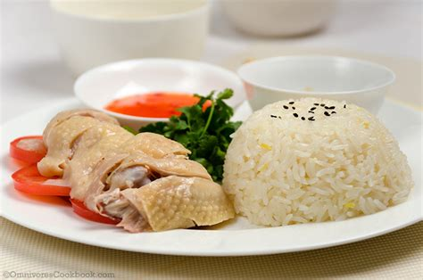 how much chicken and rice to feed a hainanese chicken rice omnivore s cookbook