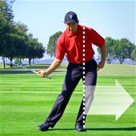stop sliding in the golf swing swing characteristics tpi