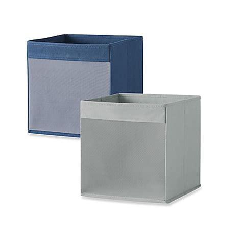 bed bath and beyond storage bins real simple 174 mesh front foldable storage bin bed bath