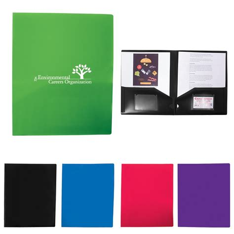 2 Pocket Folders With Business Card Slot Presentation Folders Two Pocket Folders Paperdirect Folder With Business Card Slot Template