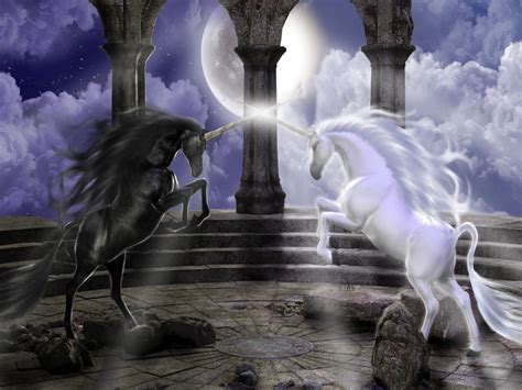 dark unicorn wallpaper fantasy wallpaper fantasy wallpaper 19508129 fanpop