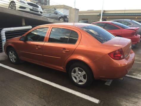 Burnt Orange Ls by 2007 Chevrolet Cobalt Ls Sedan Burnt Orange