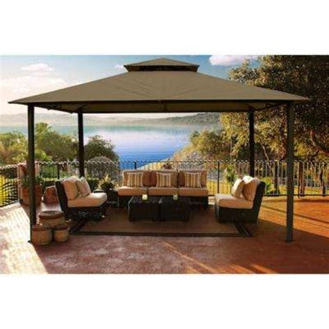 Gazebo On Patio Patio Gazebos Patio Accessories Patio Furniture The Home Depot Patio Gazebos And Canopies Schwep