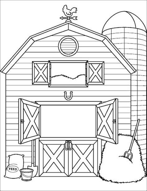 scheune zeichnung ausmalbilder bauernhof 08 ausmalbilder zum ausdrucken