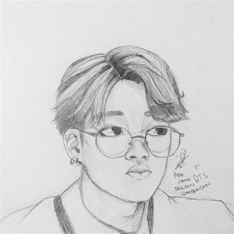 V Drawing Jimin by Bts Park Jimin By Chieri San On Deviantart