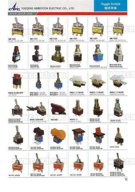 different types of light switches ip67 toggle switch 6 pin toggle switch 9 pin toggle switch