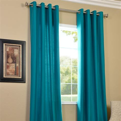 Curtains With Turquoise Designer Turquoise Curtains Which Gives Privacy And Graceful Look Designinyou Decor
