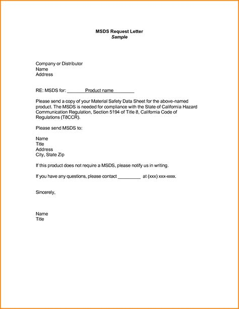 Official Request Letter Format Pdf 7 formal letter of request sle financial statement form