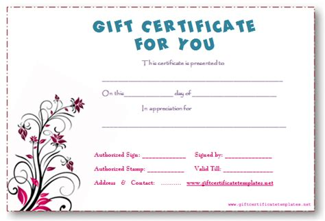 Fill In Certificate Templates Pictures To Pin On Pinterest Pinsdaddy Fill In Gift Certificate Template