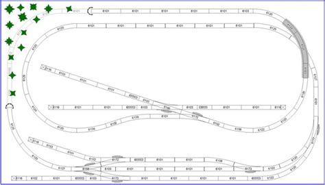 ho scale layout design software small ho track plan on 2 levels