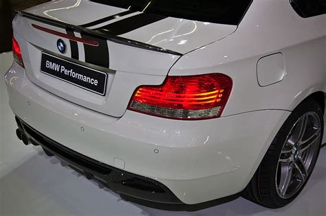 Bmw 1er Coupe Performance Heckspoiler by Foto Bmw 120d Coup 233 Mit Bmw Performance Diffusor Und