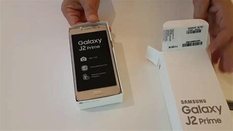 Samsung J2 Prime Pro unboxing samsung galaxy j2 prime dourado