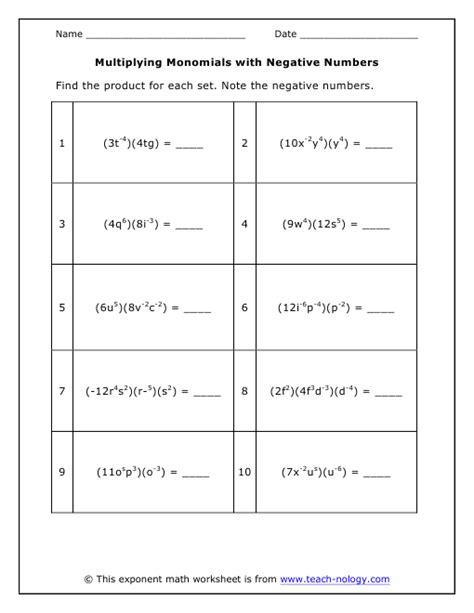 free printable worksheets multiplying exponents multiplication worksheets 187 multiplication worksheets