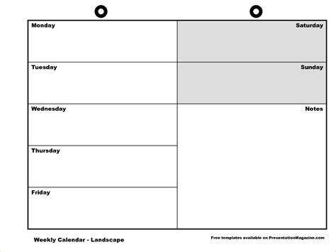 Free Weekly Calendar Template by 6 Free Weekly Calendar Template Procedure Template Sle