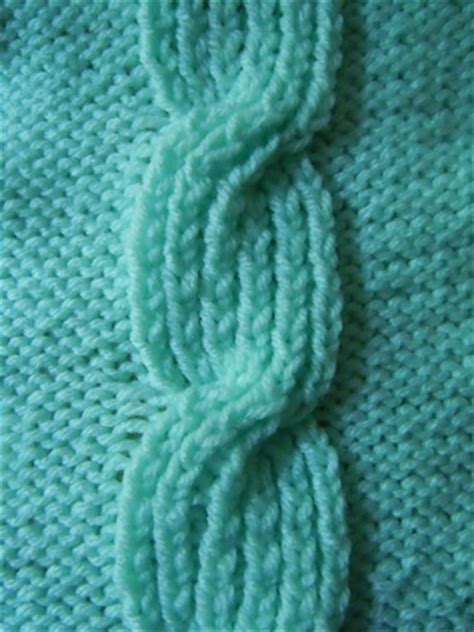 Knitting stitch patterns cables and arons