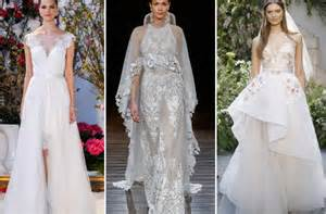 Wedding dresses best bridal gown trends from fashion week spring 2017