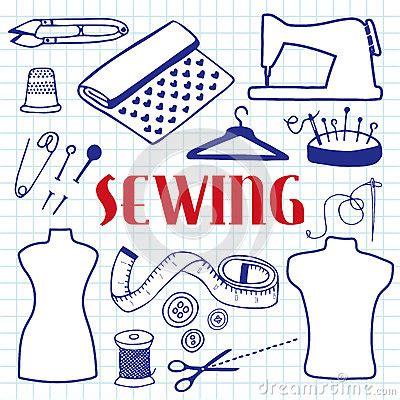 doodle tools pen set sewing set tools doodle drawing
