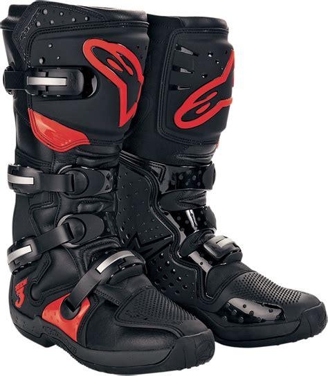 alpinestar tech 3 motocross boots alpinestars tech 3 offroad motorcycle boots black red