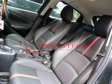 Karpet Mazda 2 Skyactiv jok paten lederlux primo untuk mobil mazda2 skyactiv