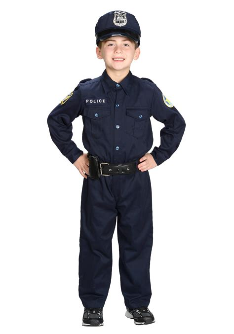 boys deluxe officer costume