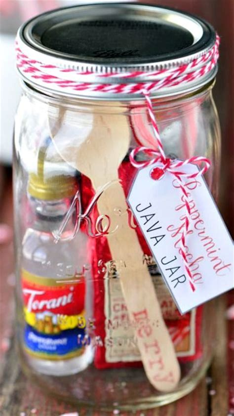 themes for java jar mason jar gifts peppermint mocha java jar easy homemade
