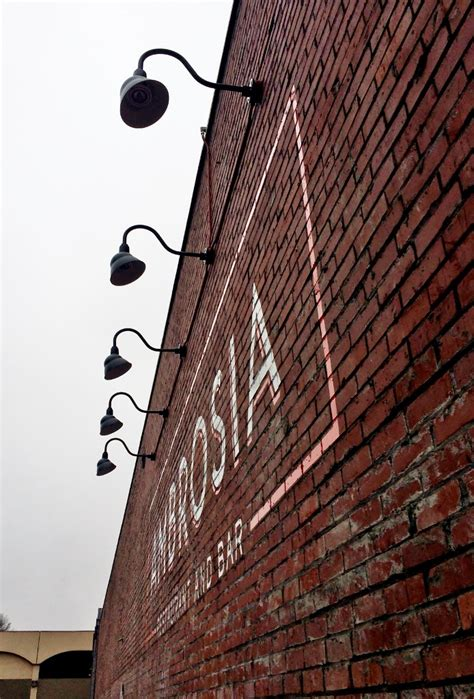 Commercial Outdoor Sign Lighting Gooseneck Sign Lights Add Pizzazz To Restaurant Renovation Barnlightelectric