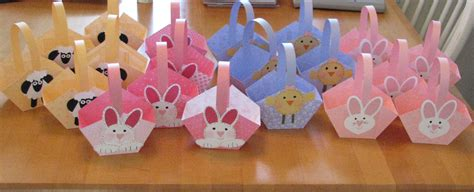 How To Make Paper Easter Baskets - easter baskets galore sting with
