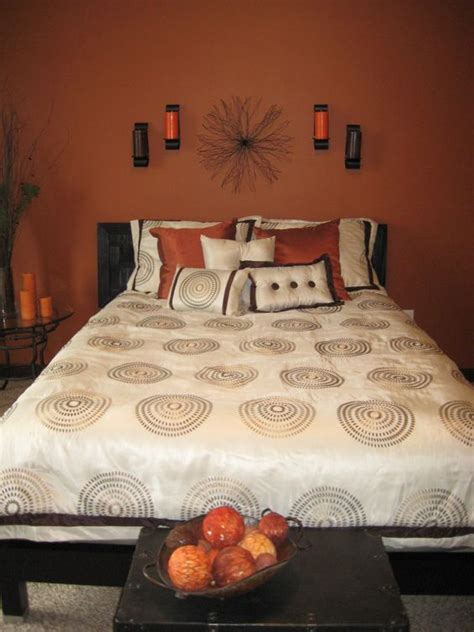 burnt orange bedroom burnt orange bedroom guest rooms and colors for bedrooms
