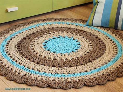 crochet rug pattern with yarn crochet rug patterns with yarn meze blog