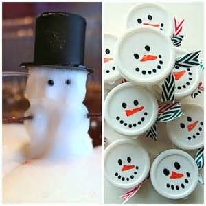 Kids will love this magic foaming dough snowman experiment check it