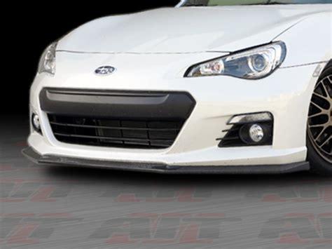 subaru brz front bumper cs style front bumper lip for subaru brz 2013 2014