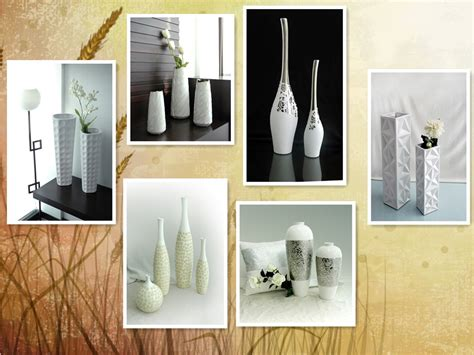 modern home decor items modern large decorative floor vases buy large decorative